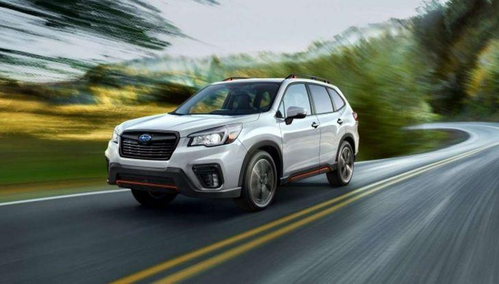 Nuova Subaru Forester 2018, informazioni e dati tecnici - Foto 10 di 18