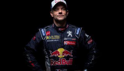 Sebastien LOEB (pilota Peugeot Total) sul campionato Rallycross 2018