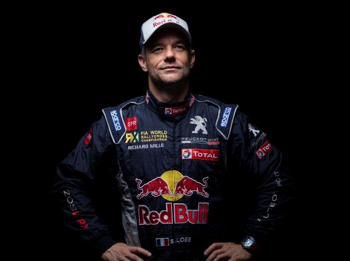 Sebastien LOEB (pilota Peugeot Total) sul campionato Rallycross 2018 - Foto 1 di 1