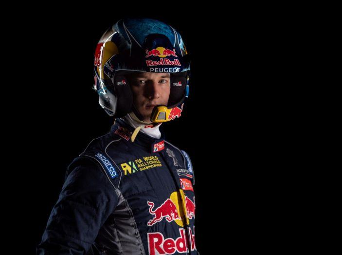 Timmy HANSEN (pilota Peugeot 208 WRX) inizia la stagione rallycross 2018 - Foto 1 di 1