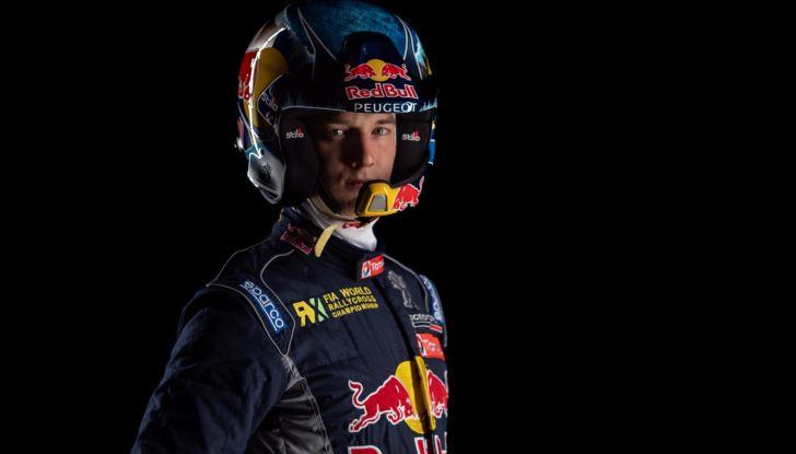 Timmy HANSEN (pilota Peugeot 208 WRX) inizia la stagione rallycross 2018 - Foto  di