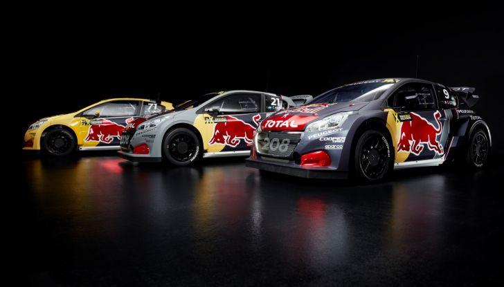 Mondiale di Rallycross – Peugeot volta pagina con impegno ufficiale - Foto 1 di 2