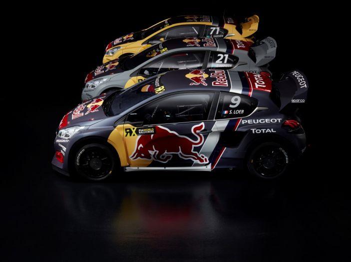 Come funziona il Rallycross? Scopriamolo con il team Peugeot Total - Foto 1 di 1