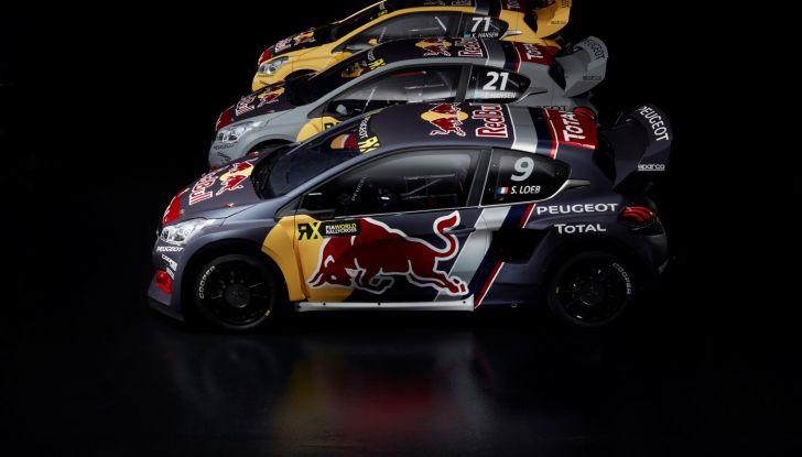 Come funziona il Rallycross? Scopriamolo con il team Peugeot Total - Foto  di