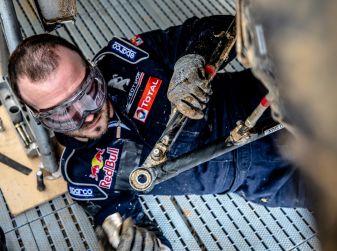Timmy Hansen (Peugeot Total) non ha espresso il potenziale a Barcellona