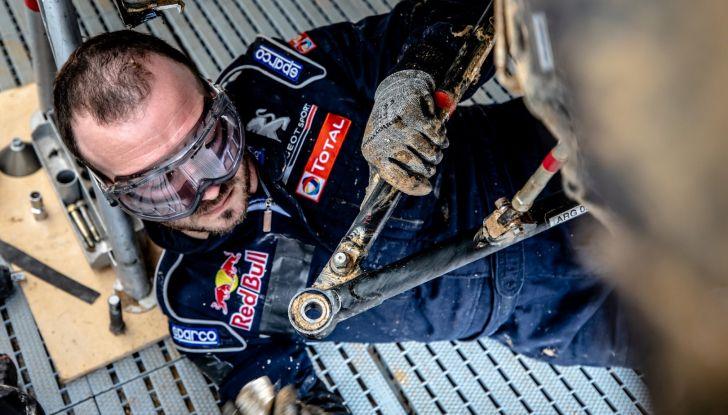Timmy Hansen (Peugeot Total) non ha espresso il potenziale a Barcellona - Foto  di