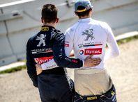 Kevin Hansen (Peugeot Total) cede la posizione a Loeb