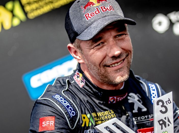Sebastien LOEB (Peugeot Total) soddisfatto dell'esordio nel WRX 2018 - Foto 1 di 1