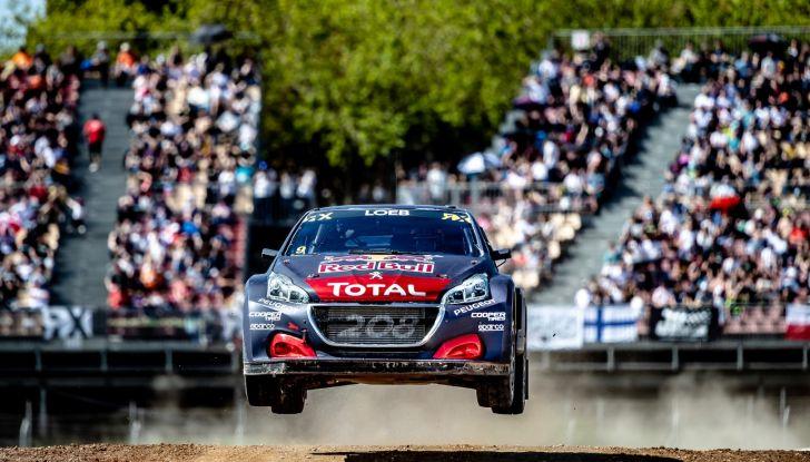Peugeot sul secondo gradino del podio a Barcellona nel WRX - Foto 1 di 2