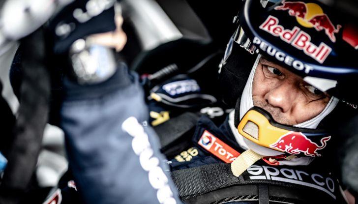 La classifica della gara WRX di Barcellona, dove Loeb (Peugeot) è arrivato secondo - Foto  di