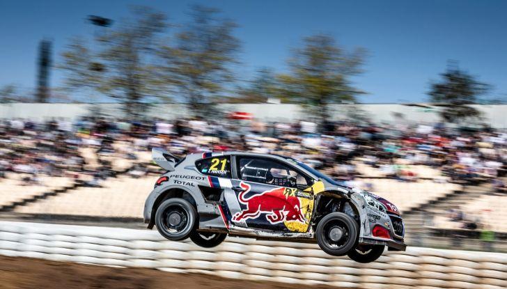 Peugeot sul secondo gradino del podio a Barcellona nel WRX - Foto 2 di 2