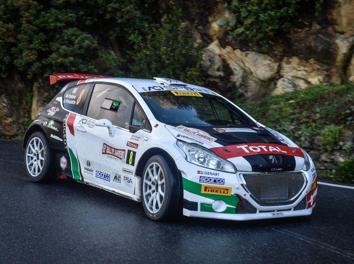 Marco Pollara (Peugeot 208 T16) deluso a Sanremo - Foto 1 di 5
