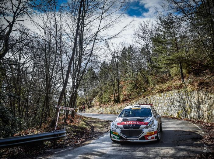 Marco Pollara (Peugeot 208 T16) deluso a Sanremo - Foto 3 di 5