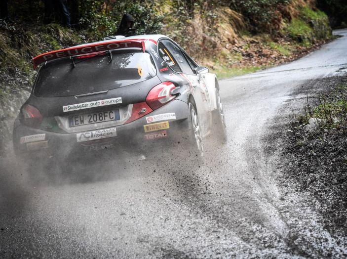 Marco Pollara (Peugeot 208 T16) deluso a Sanremo - Foto 5 di 5