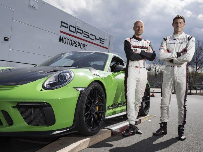 [VIDEO] Porsche 911 GT3 RS da record al Nürburgring in 6'56.4 - Foto 6 di 6