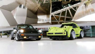 Porsche 911 Turbo, l'esemplare in LEGO al Museo Porsche di Stoccarda