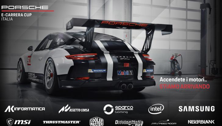 La Porsche e-Carrera Cup Italia: sfida sul simulatore con Assetto Corsa - Foto 1 di 27