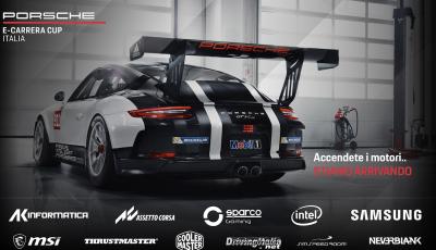 La Porsche e-Carrera Cup Italia: sfida sul simulatore con Assetto Corsa