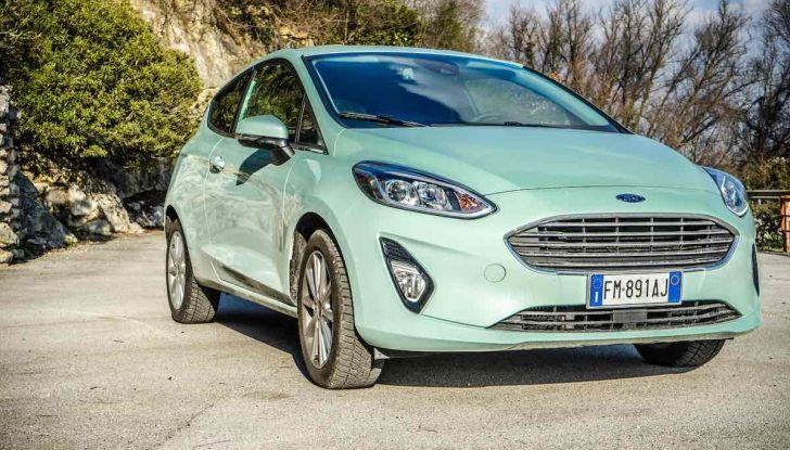 Prova Ford Fiesta Titanium 2018: il 3 cilindri da 85CV per neopatentati [VIDEO] - Foto 11 di 33