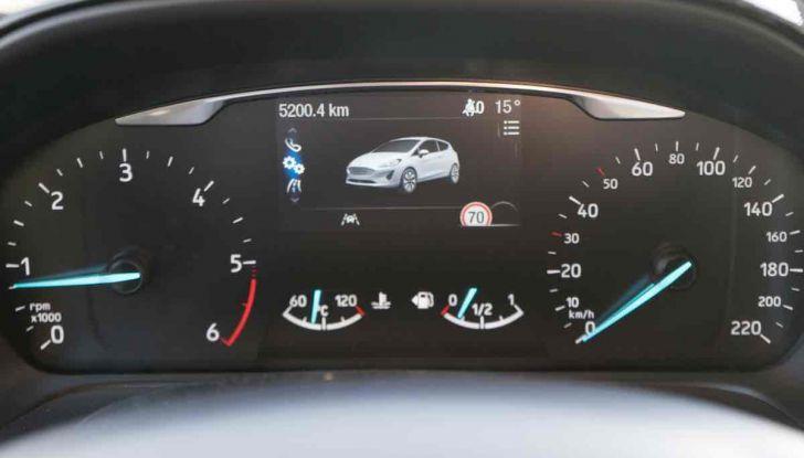 Prova Ford Fiesta Titanium 2018: il 3 cilindri da 85CV per neopatentati [VIDEO] - Foto 28 di 33