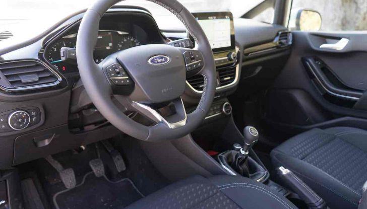 Prova Ford Fiesta Titanium 2018: il 3 cilindri da 85CV per neopatentati [VIDEO] - Foto 25 di 33