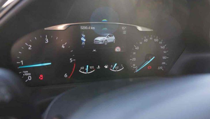 Prova Ford Fiesta Titanium 2018: il 3 cilindri da 85CV per neopatentati [VIDEO] - Foto 24 di 33
