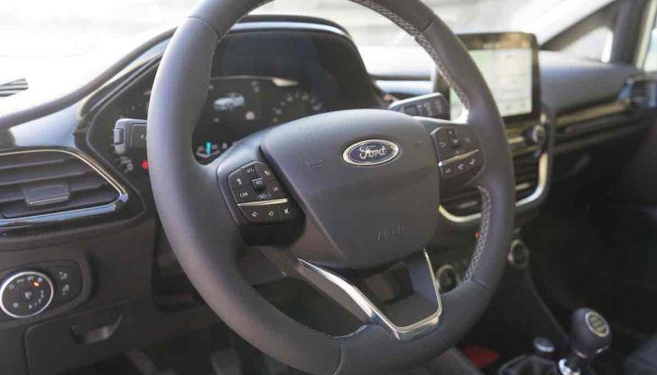 Prova Ford Fiesta Titanium 2018: il 3 cilindri da 85CV per neopatentati [VIDEO] - Foto 23 di 33