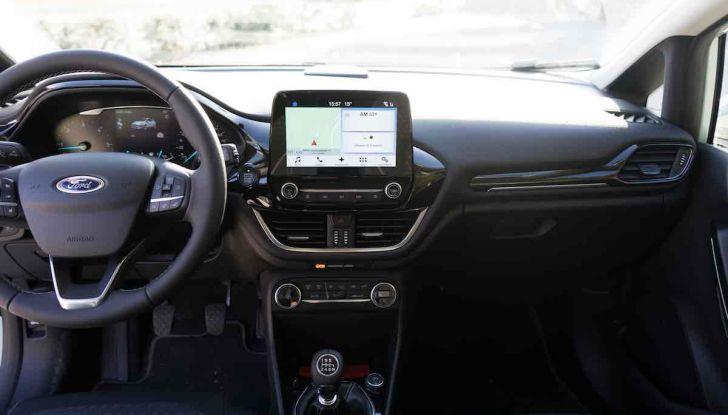 Prova Ford Fiesta Titanium 2018: il 3 cilindri da 85CV per neopatentati [VIDEO] - Foto 22 di 33