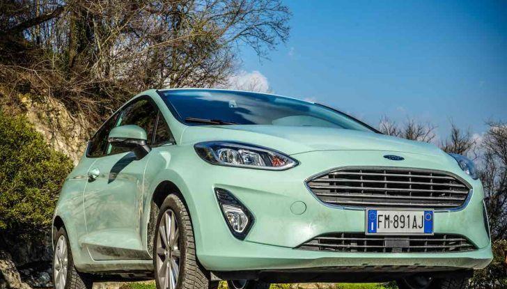 Prova Ford Fiesta Titanium 2018: il 3 cilindri da 85CV per neopatentati [VIDEO] - Foto 13 di 33