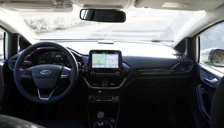 Prova Ford Fiesta Titanium 2018: il 3 cilindri da 85CV per neopatentati [VIDEO] - Foto 20 di 33