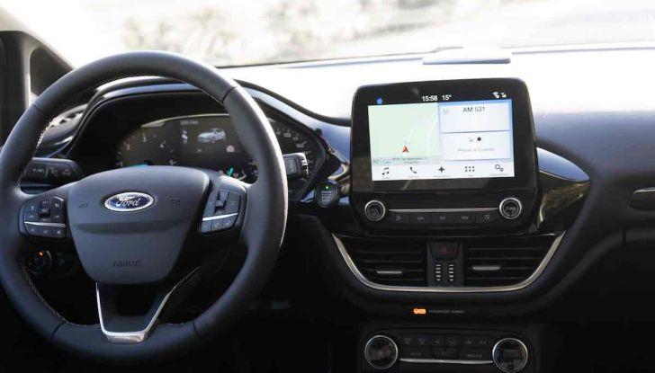 Prova Ford Fiesta Titanium 2018: il 3 cilindri da 85CV per neopatentati [VIDEO] - Foto 19 di 33