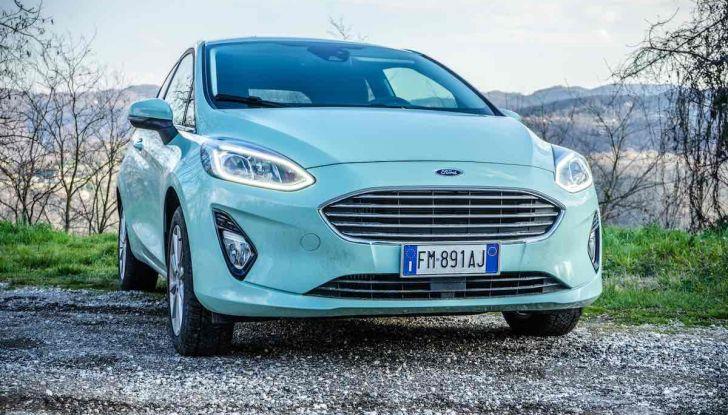 Prova Ford Fiesta Titanium 2018: il 3 cilindri da 85CV per neopatentati [VIDEO] - Foto 1 di 33