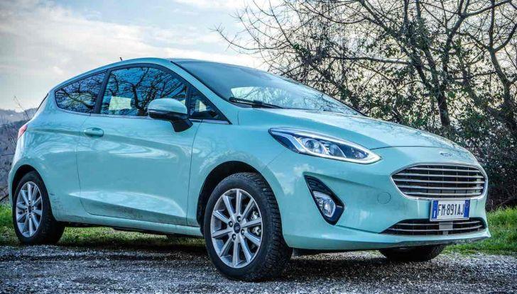 Prova Ford Fiesta Titanium 2018: il 3 cilindri da 85CV per neopatentati [VIDEO] - Foto 7 di 33
