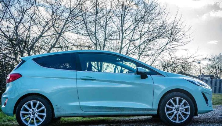 Prova Ford Fiesta Titanium 2018: il 3 cilindri da 85CV per neopatentati [VIDEO] - Foto 8 di 33