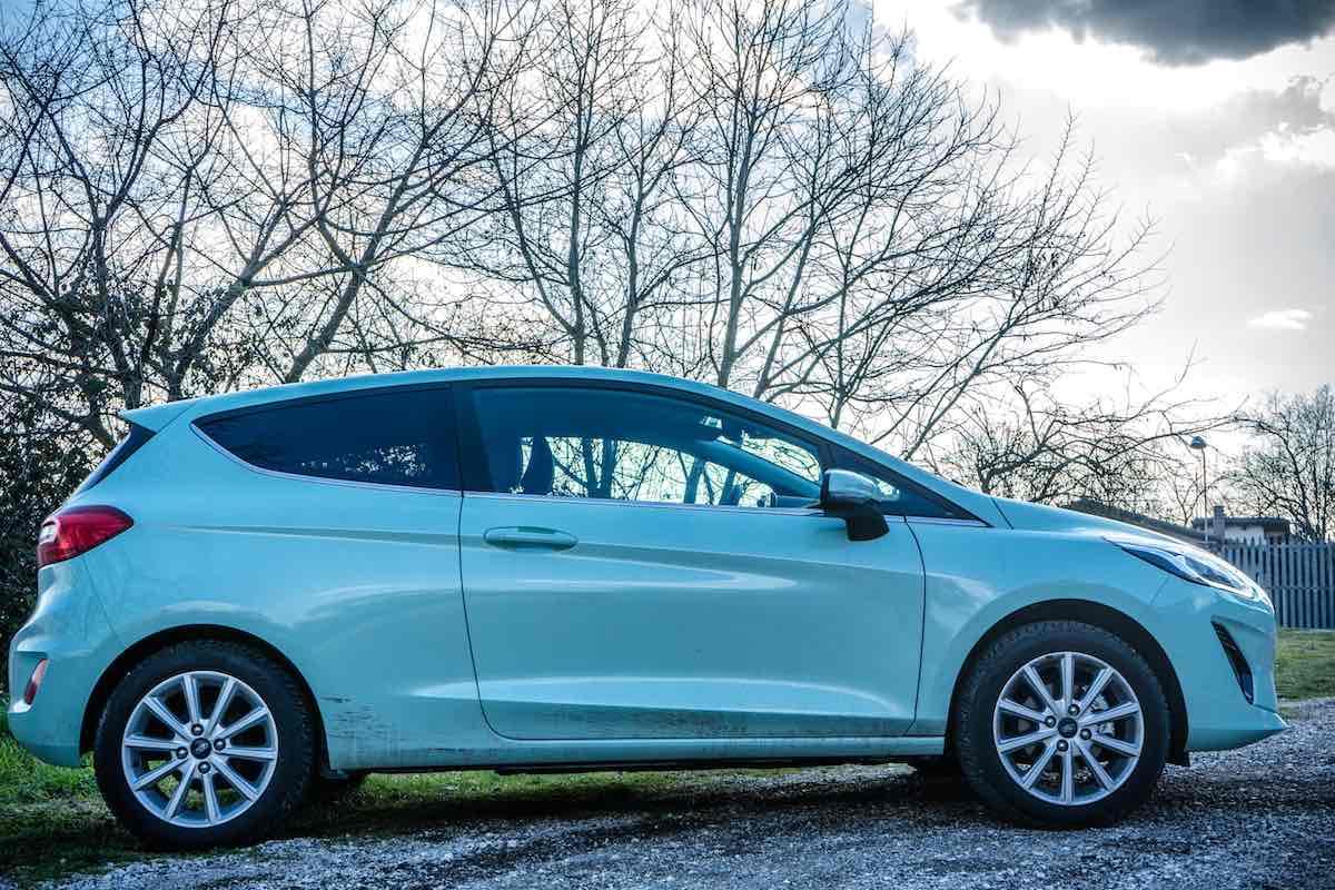 Ford Fiesta 2018, fiancata