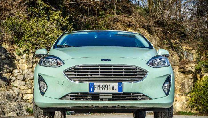 Prova Ford Fiesta Titanium 2018: il 3 cilindri da 85CV per neopatentati [VIDEO] - Foto 17 di 33