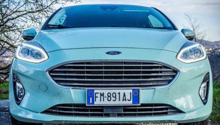 Prova Ford Fiesta Titanium 2018: il 3 cilindri da 85CV per neopatentati [VIDEO] - Foto 2 di 33