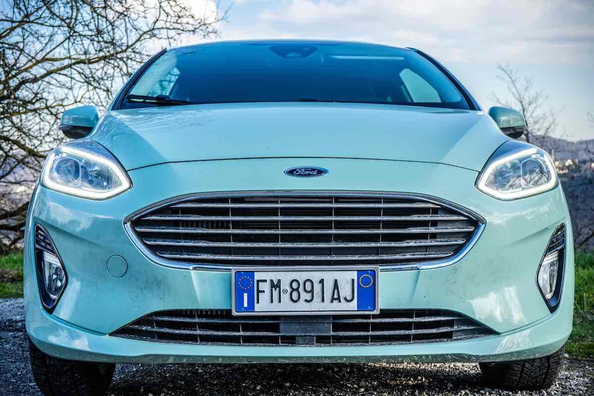 Ford Fiesta 2018 frontale