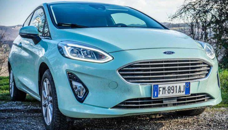 Prova Ford Fiesta Titanium 2018: il 3 cilindri da 85CV per neopatentati [VIDEO] - Foto 10 di 33