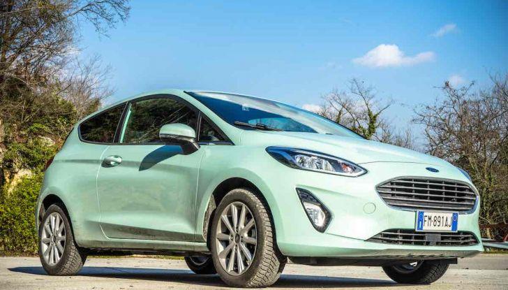 Prova Ford Fiesta Titanium 2018: il 3 cilindri da 85CV per neopatentati [VIDEO] - Foto 14 di 33