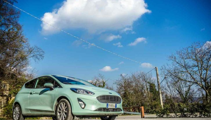 Prova Ford Fiesta Titanium 2018: il 3 cilindri da 85CV per neopatentati [VIDEO] - Foto 12 di 33