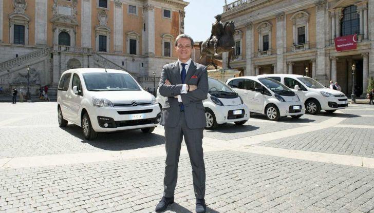 Quattro Citroen C-Zero e Berlingo elettriche per il Comune di Roma - Foto 2 di 9