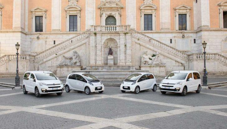 Quattro Citroen C-Zero e Berlingo elettriche per il Comune di Roma - Foto 3 di 9