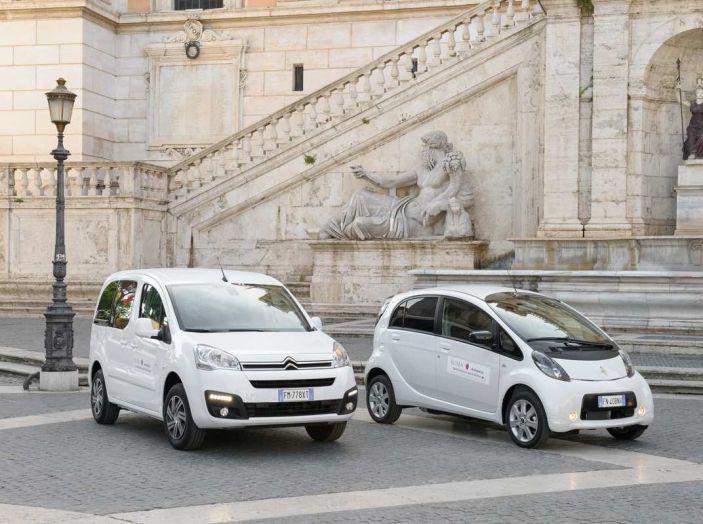 Quattro Citroen C-Zero e Berlingo elettriche per il Comune di Roma - Foto 4 di 9