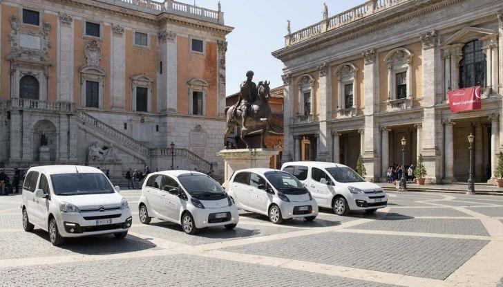 Quattro Citroen C-Zero e Berlingo elettriche per il Comune di Roma - Foto 1 di 9