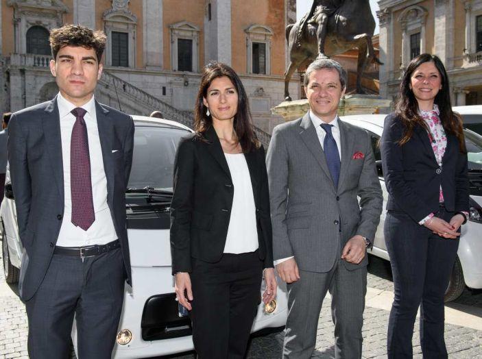 Quattro Citroen C-Zero e Berlingo elettriche per il Comune di Roma - Foto 6 di 9