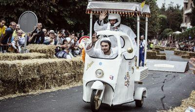 RedBull Soapbox Race, a Roma 70 folli equipaggi pronti a dare spettacolo