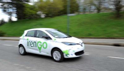 Renault ZOE, una flotta di 20 auto per il carpooling aziendale di IrenGo