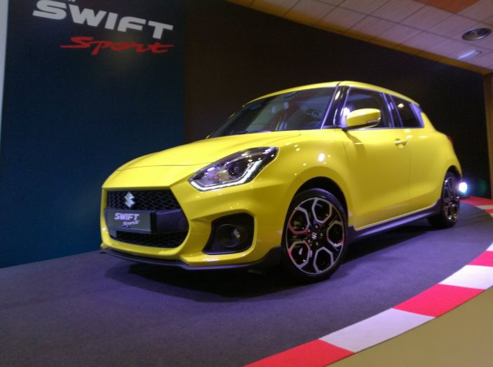 Nuova Suzuki Swift Sport 2018, peso piuma da 140CV - Foto 2 di 34