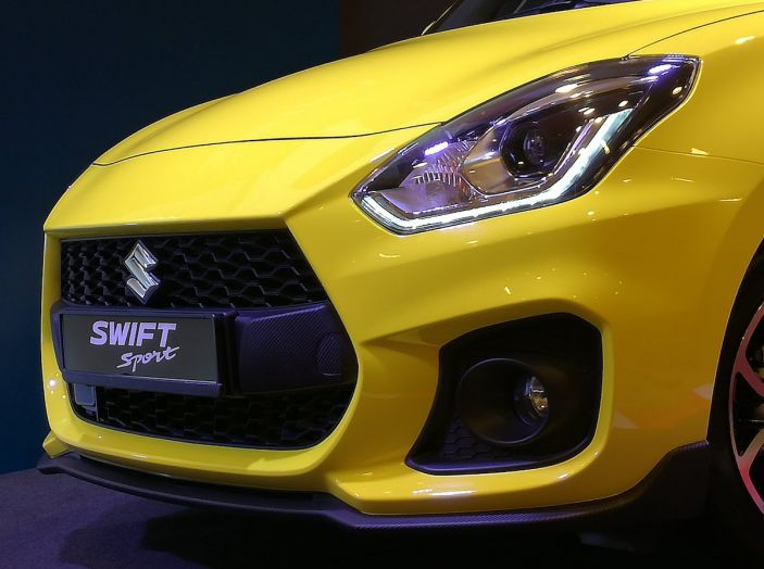Nuova Suzuki Swift Sport 2018, peso piuma da 140CV - Foto 4 di 34